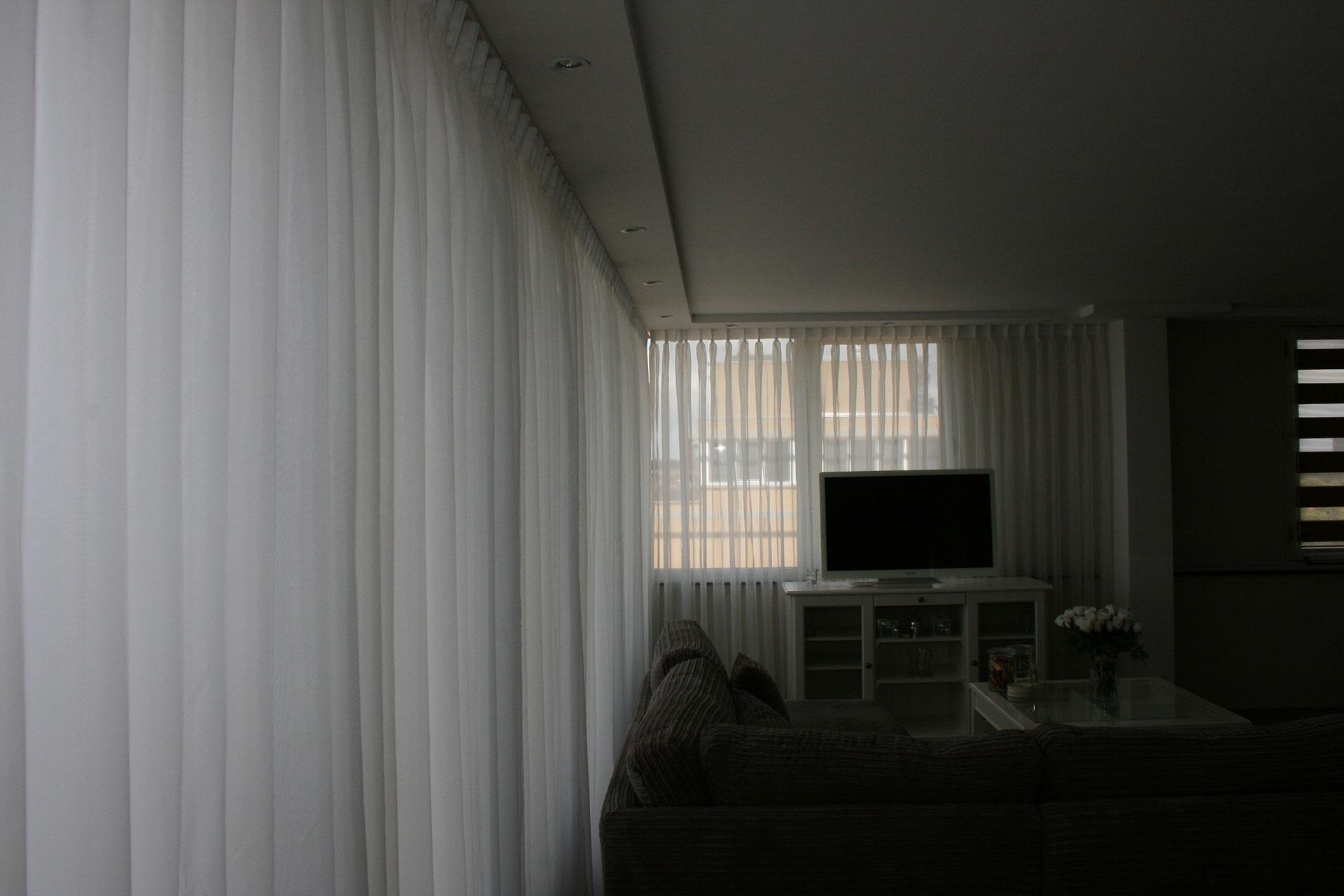 Wesley 39 s deco interieurstoffen vitrages - Deco kamer onder dekking ...